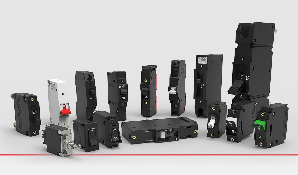Carling Technologies Hydraulic Magnetic Circuit Breakers
