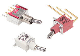 Carling Technologies 2M-Series Subminiature Toggle Switches