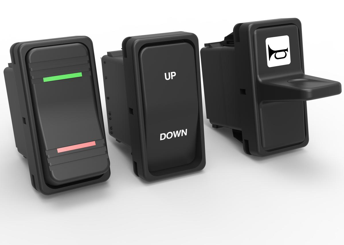 V-Series IP66/68 Sealed Rocker Switches