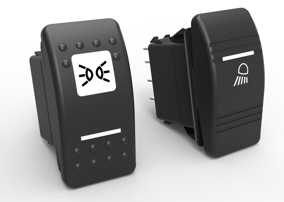 V-Series IP66/68 Sealed Rocker Switches