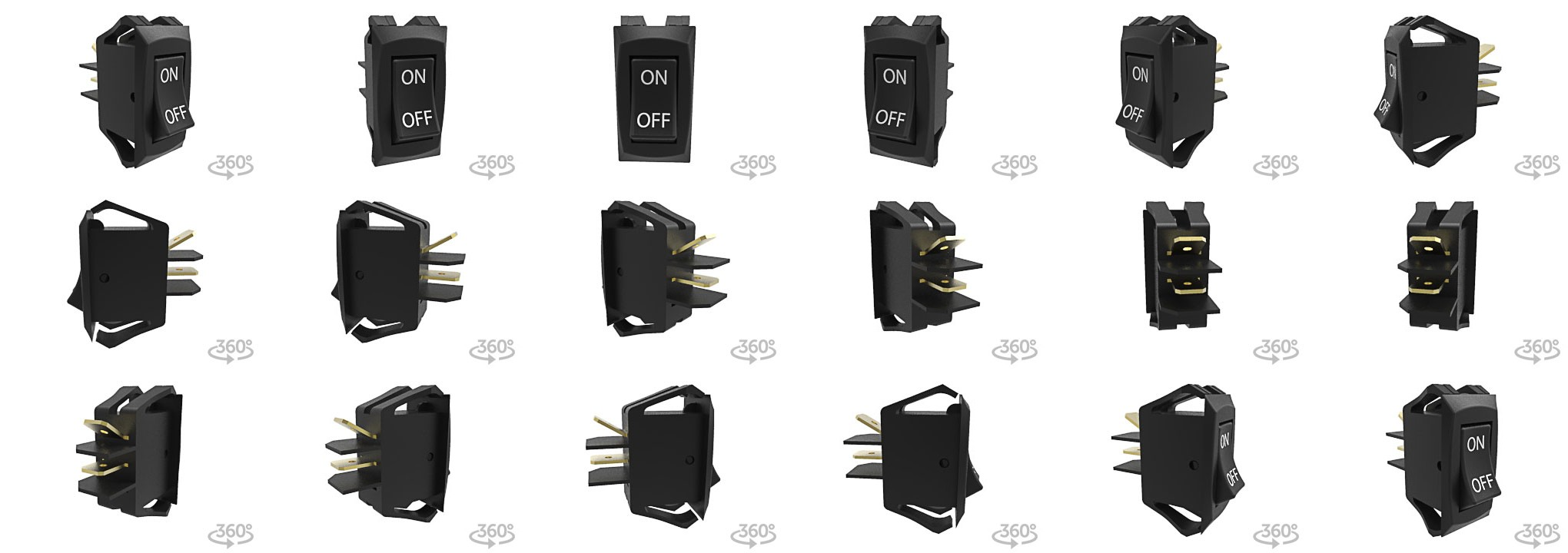 R_340x240_18_3D r series 1 pole, single or double throw carlingswitch rocker switch  at gsmx.co