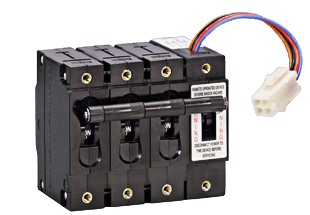 C series remote operated hydraulic magnetic circuit for Motor operated circuit breaker